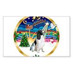 XmasMusic 3/Eng Springer #8 Sticker (Rectangle 50