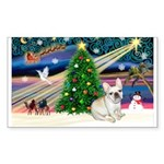Xmas Magic & FBD Sticker (Rectangle 10 pk)