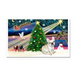 Xmas Magic & FBD Rectangle Car Magnet