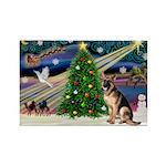 XmasMagic/G Shepherd 2 Rectangle Magnet (10 pack)