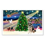 XmasMagic/ SchipperkGerman S Sticker (Rectangle 50