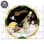 Night Flight/German Shepherd Puzzle
