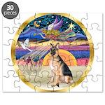 XmasStar/ German Shepherd Puzzle