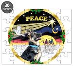 XmasDove/ German Shepherd Puzzle