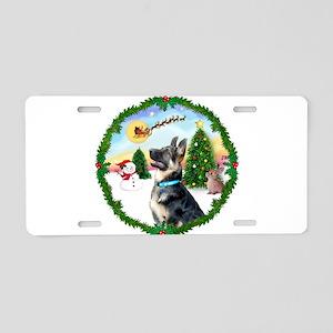 Take Off1/ German Shepherd Aluminum License Plate