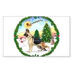 Take Off1/German Shepherd Sticker (Rectangle)