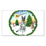 Take Off1/ German Shepherd Sticker (Rectangle 10 p