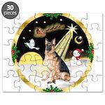 Night Flight/ German Shepherd Puzzle