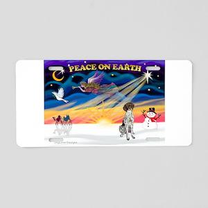 XmasSunrise/GSHP Aluminum License Plate