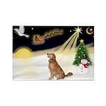 Night Flight/Golden 12 Rectangle Magnet (10 pack)
