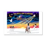 XmasSunrise/Great Dane Car Magnet 20 x 12