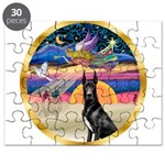 XmasStar/ Gr Dane (blk) Puzzle