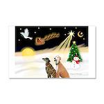 NIGHT FLIGHT<br>& 2 Greyhound Car Magnet