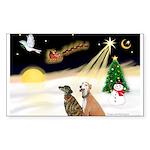 NIGHT FLIGHT<br>& 2 Greyhound Sticker (R