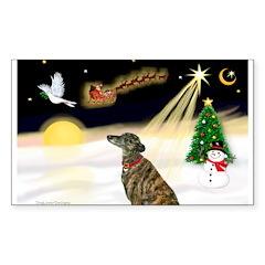 Night Flight/Greyhound (brin0 Sticker (Rectangle)