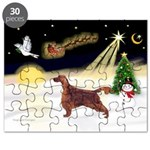 Night Flight/Irish Setter Puzzle
