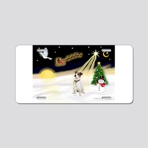 Night Flight/ JRT #1 Aluminum License Plate