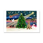XmasMagic/Lakeland Ter Car Magnet 20 x 12