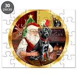 Santa's Lab (blk)#1 Puzzle