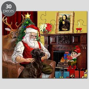 Santa's Chocolate Lab Puzzle
