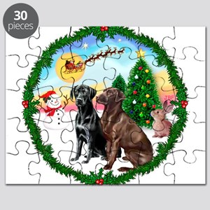 Take Off1/2 Labs(cho/blk) Puzzle