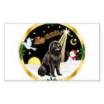 Night Flight/Newfie #2 Sticker (Rectangle 50 pk)