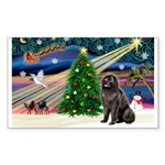 Xmas Magic/Newfie (#2) Sticker (Rectangle 10 pk)