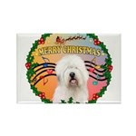 XmasMusic 3/OES #3 Rectangle Magnet (10 pack)