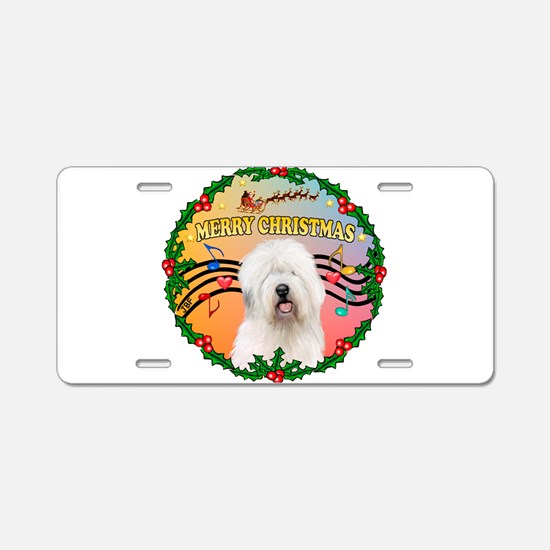 XmasMusic 3/OES #3 Aluminum License Plate