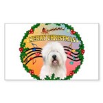 XmasMusic 3/OES #3 Sticker (Rectangle 50 pk)