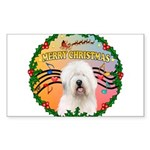 XmasMusic 3/OES #3 Sticker (Rectangle)