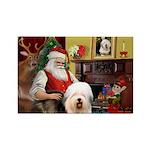 Santa's Old English #5 Rectangle Magnet (10 pack)