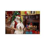 Santa's Old English #6 Rectangle Magnet (10 pack)