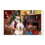 Santa's Old English #6 Sticker (Rectangle 50 pk)