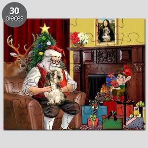 Santa's Petit Basset Puzzle