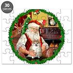 Santa's Pomeranian #1 Puzzle