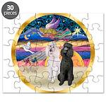 XmasMagic/2 Std Poodles Puzzle