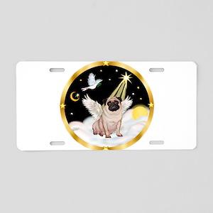Night Flight/ Pug Aluminum License Plate