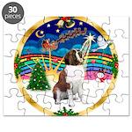 XmasMusic 3/ St Bernard #1 Puzzle