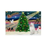 Xmas Magic & Samo Rectangle Magnet (10 pack)