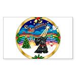 XmasMusic 3/Scottie #12 Sticker (Rectangle 10 pk)