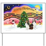Xmas Music #2 / 2 Shelties (d Yard Sign