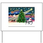 XmasMagic/Shih Tzu Yard Sign