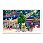 Xmas Magic & Skye Trio Sticker (Rectangle 10 pk)