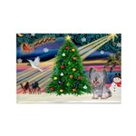 Xmas Magic / Skye Terri Rectangle Magnet