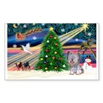 Xmas Magic / Skye Terri Sticker (Rectangle)