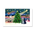 XmasMagic/TibetanTer 5 Car Magnet 20 x 12