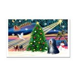 XmasMagic/TibetanTer 5 Rectangle Car Magnet