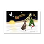 Night Flight/Weimaraner #2 Car Magnet 20 x 12