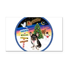 XmasSigns/Corgi Pup (Z) Rectangle Car Magnet